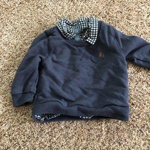 Baby Gap shirt/sweatshirt combo 12-18 months